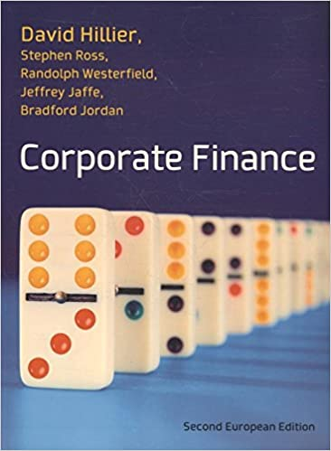 Corporate finance european edition by hillier and ross amazon corporate finance european edition by hillier and ross amazon david hillier 9780077139148 books fandeluxe