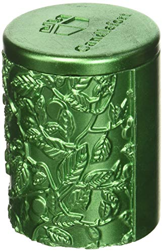 Candellana Candles Candlefort Candles Concrete Tranquility Green Metallic, Scent: Orient Wood -
