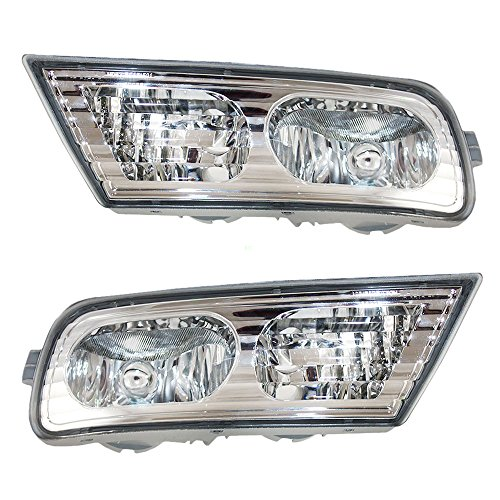 - Driver and Passenger Fog Lights Lamps Replacement for Acura 33951-STX-A01 33901-STX-A01 AutoAndArt