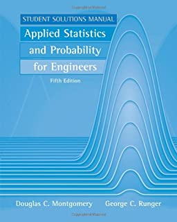 Amazon applied statistics and probability for engineers applied statistics and probability for engineers student solutions manual fandeluxe Images