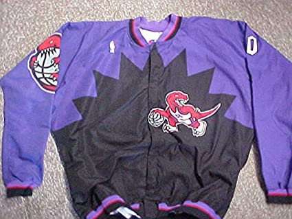 ace61ee0205 Eric Montross Toronto Raptors Game Worn Jacket at Amazon s Sports ...