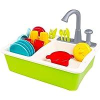 Colorbaby tvättställ med tillbehör My Home Colors (49025)