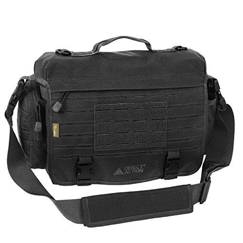 (Direct Action Messenger Mk II Tactical Bag Black Mk)