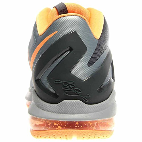Amazon.com | Nike Max Lebron XI Low Men Sneakers Light Magnet Grey/Magnet  Grey/Bright Mango/Dark Grey 642849-002 | Basketball