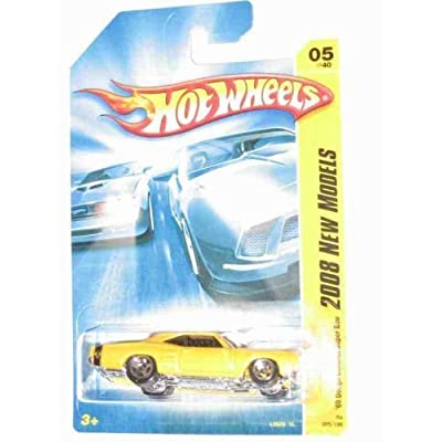 2008 New Models #5 '69 Dodge Coronet Super Bee Dark Yellow Collectibles Collector Car #2008-5 2008 Hot Wheels: Toys & Games