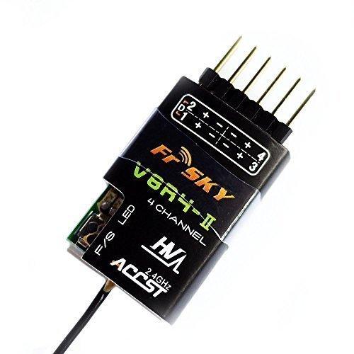 FrSky Taranis Compatible Receiver V8R4-II 4-Channel 2.4ghz ()