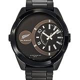 All Blacks - 680174 - Montre Homme - Quartz Analogique - Cadran Noir - Bracelet Plastique Noir