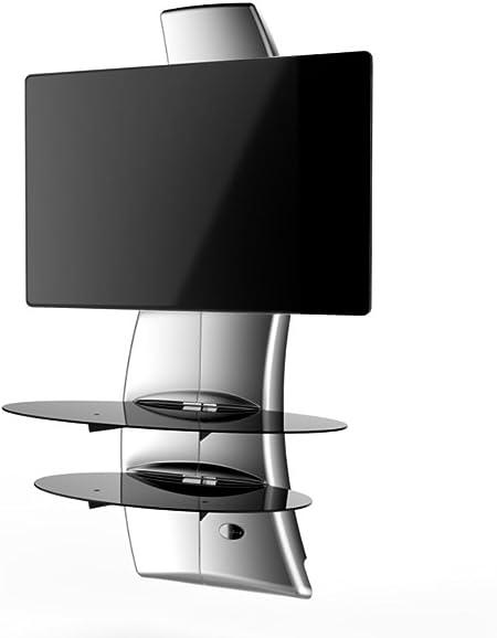Meliconi Ghost Design 2000 - Soporte de pared para televisor de plasma/LCD, blanco: Amazon.es: Electrónica