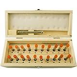 100 pc. Micro Drill Bit Set w/Pin Vise Drill