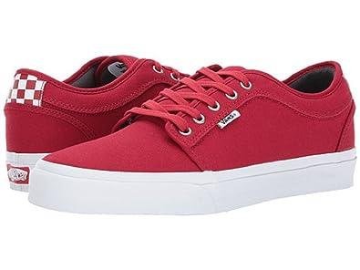 e05fa654cdac Vans Chukka Low Men s Skate Shoe Chili Pepper (9.5)  Amazon.co.uk ...