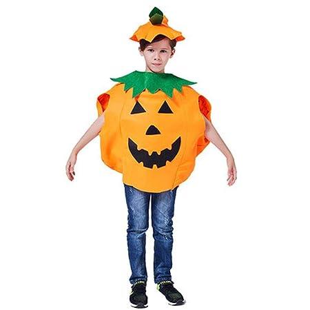 Disfraz de Calabaza de Halloween Traje Ropa de Fiesta Ropa para ...