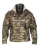 ZAPT 1000D Cordura US Army Tactical Jacket Military Waterproof Windproof Hard Shell Jackets (Multicam, XLarge:49-52'')