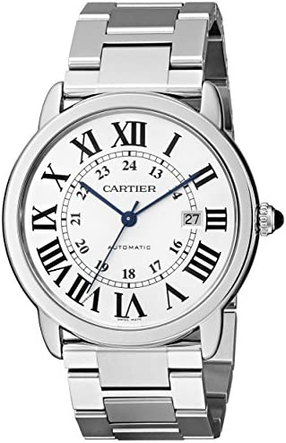 Cartier Men s W6701011 Ronde Solo Stainless Steel Watch