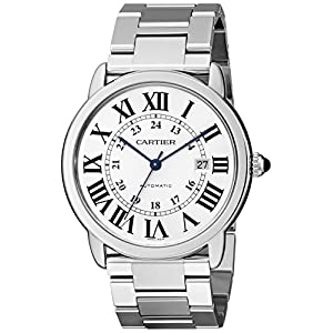 Cartier Ronde Solo - Reloj (Reloj de Pulsera, Masculino, Acero Inoxidable, Acero Inoxidable, Acero Inoxidable, Acero Inoxidable) 1