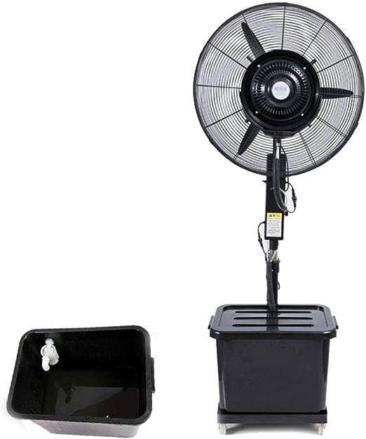 Ventiladores de pie Ventilador pulverizador, Enfriador de Aire para el Ventilador Que se Puede Limpiar con un paño ...