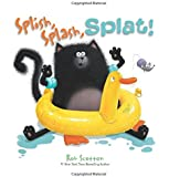 Splish, Splash, Splat! Board Book (Splat the Cat)