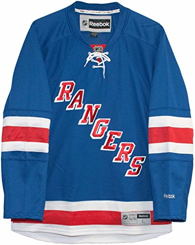 NHL New York Rangers Premier Jersey, Blue, Medium