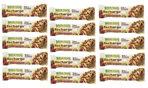 Nature Valley Energy Bar Cherry Dark Chocolate with Almonds of 1.77 Oz - 15 Bars
