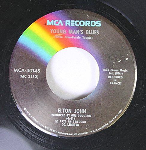 goodbye yellow brick road 45 rpm single (Elton John Yellow Brick Road Yellow Vinyl)