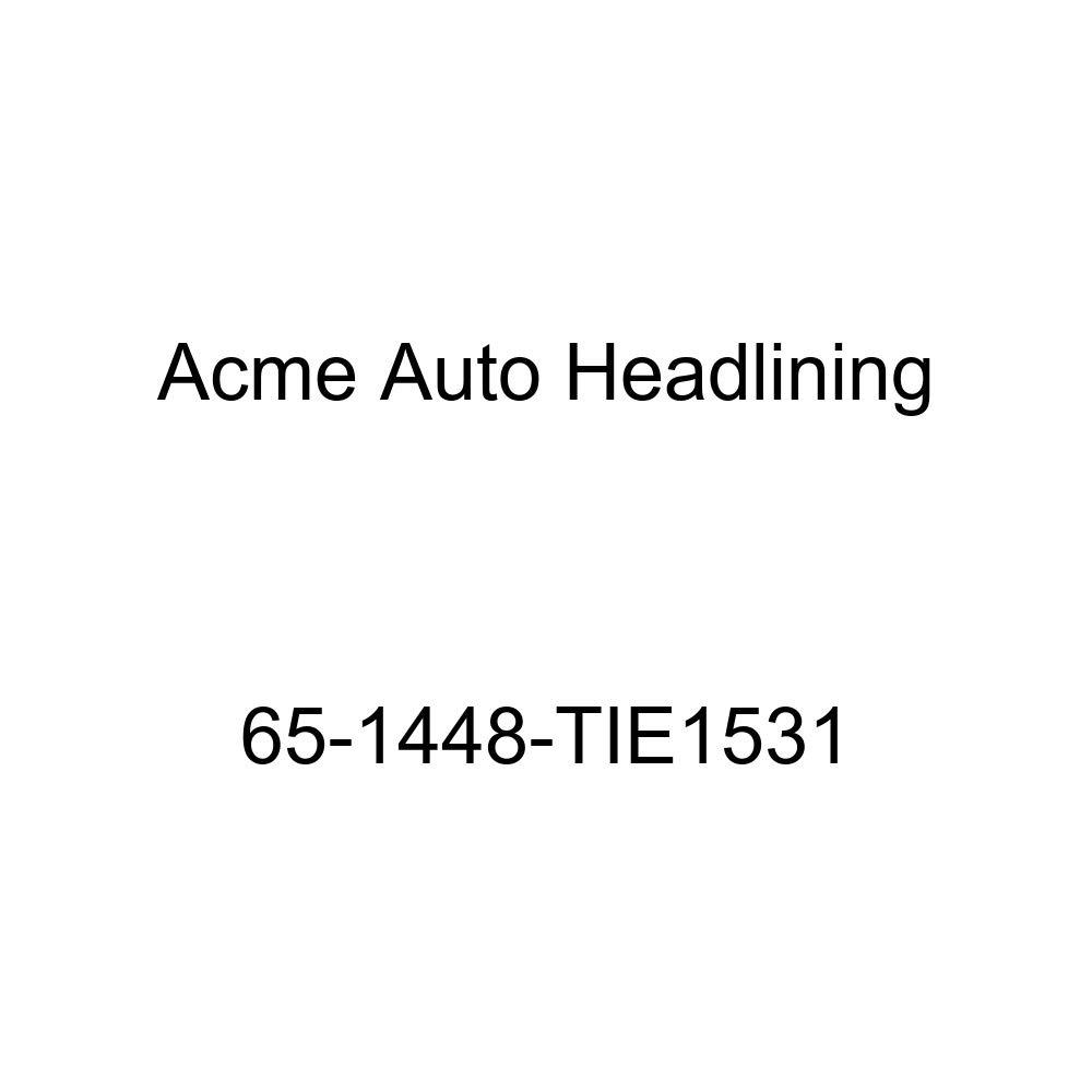Pontiac Tempest 2 Door Club Coupe 5 Bow Acme Auto Headlining 63-1522-TIE1531 Chamois Replacement Headliner