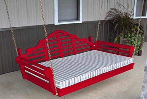 Mejor porche Swing día cama, Gorgeous Marlboro 6 Swinging ratán ...