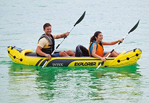 Amazon.com: Intex Explorer K2 - Kayak hinchable para 2 ...