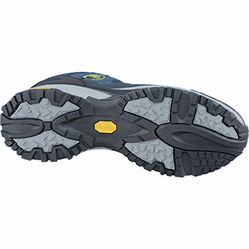 Bruetting Expedition Mid, Zapatos de High Rise Senderismo Unisex Adulto Azul (Marine/blau/lemon)