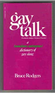 Dictionary fantabulosa gay polari slang