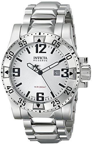 galleon invicta men 39 s 5674 reserve collection excursion diver stainless steel watch. Black Bedroom Furniture Sets. Home Design Ideas