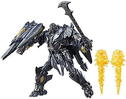 """8/"""" Transformers 5 Movie The Last Knight V Megatron Action Figures Plane Gifts"""
