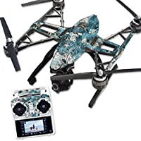 MightySkins Protective Vinyl Skin Decal for Yuneec Q500 & Q500+ Quadcopter Drone wrap cover sticker skins TrueTimber Rift