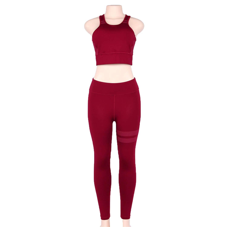 Red Khuntorianstracksuits 2019 hot Sport Clothing Women Sport Suit Running Set Gym Clothing Sportswear Yoga Set