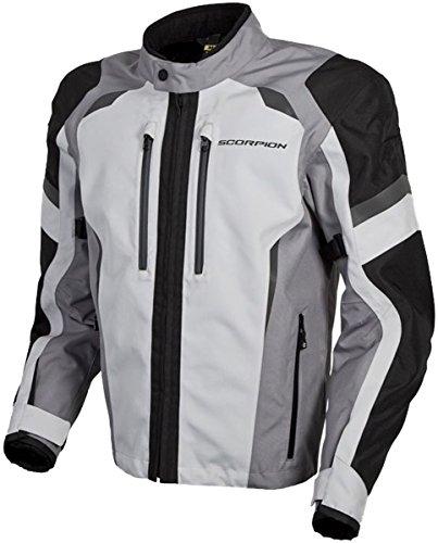 Scorpion Optima Men's Street Motorcycle Jackets - Grey Medium