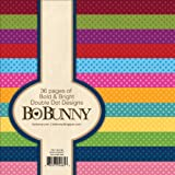 Bo Bunny BoBunny Double Dot Paper Pad, 6 by 6-Inch, Bold and Bright, 36-Pack offers
