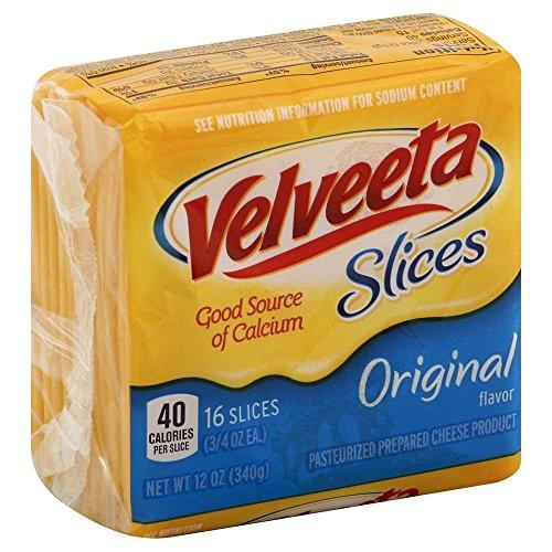 Kraft Velveeta Sliced Cheese, 12 Ounce - 12 per case. by Velveeta (Image #4)