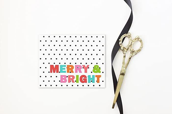 amazon com personalized christmas card girly holiday card custom