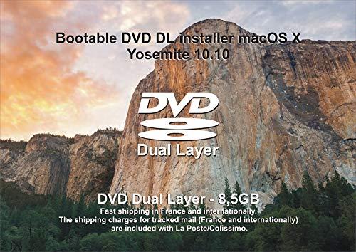 Mac OS X Yosemite 10.10 Bootable / Install / Upgrade – DVD