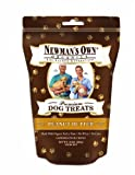 Newman's Own Organics Dog Treats, Medium Size, Peanut Butter, 10-Ounce Bags (Pack of 6), My Pet Supplies