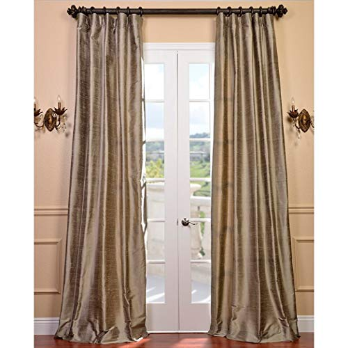 un 1pc 108 Girls Cashmere Silver Textured Curtain Single Panel, Silk, Kids Themed Insulated Energy Efficient Lined Rod Pocket Playful Luxurious, Grey Allover Pattern Window Drapes