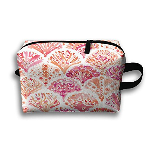Scallop Conch Toiletry Bag Cosmetic Bag Tote Shopping Bag Wear Resistance For Women