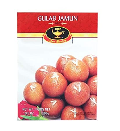 Deep Gulab Jamun Mix 3.5oz(100gm) by DEEP