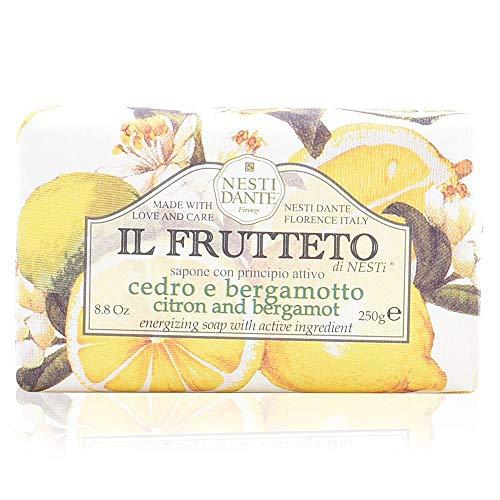 Nesti Dante Nesti dante il frutteto Energizing soap - Citron and Bergamot, 8.8oz, 8.8 -