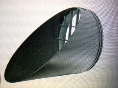 RAB Lighting HV1VG H System Visor, Aluminum, 5-5/8'' Diameter x 6-1/4'' Height, Verde Green by RAB Lighting