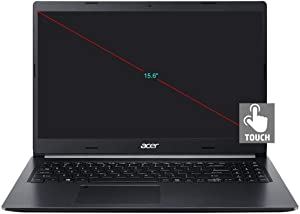 Newest Acer Aspire 5 A515 15.6-inch Touchscreen HD Laptop PC, 10th Gen Quad-Core Intel I5-1035G1 up to 3.6GHz, 8GB DDR4, 512G PCIe SSD, Backlit Keyboard, Windows 10 Home w/Mazepoly Accessories