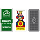 Modiano Bresciane 90 - Carte da gioco regionali