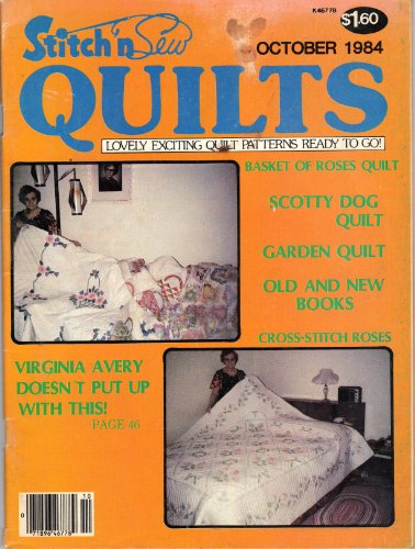 Giant Dahlia Quilt (Stitch n Sew Quilts (September/October 1984))