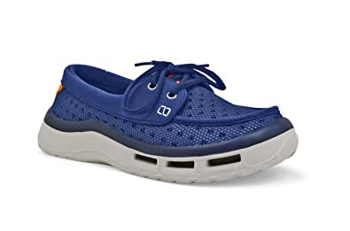 SoftScience Soft Science Women's Fin 2.0 Boating Shoe Blue 6