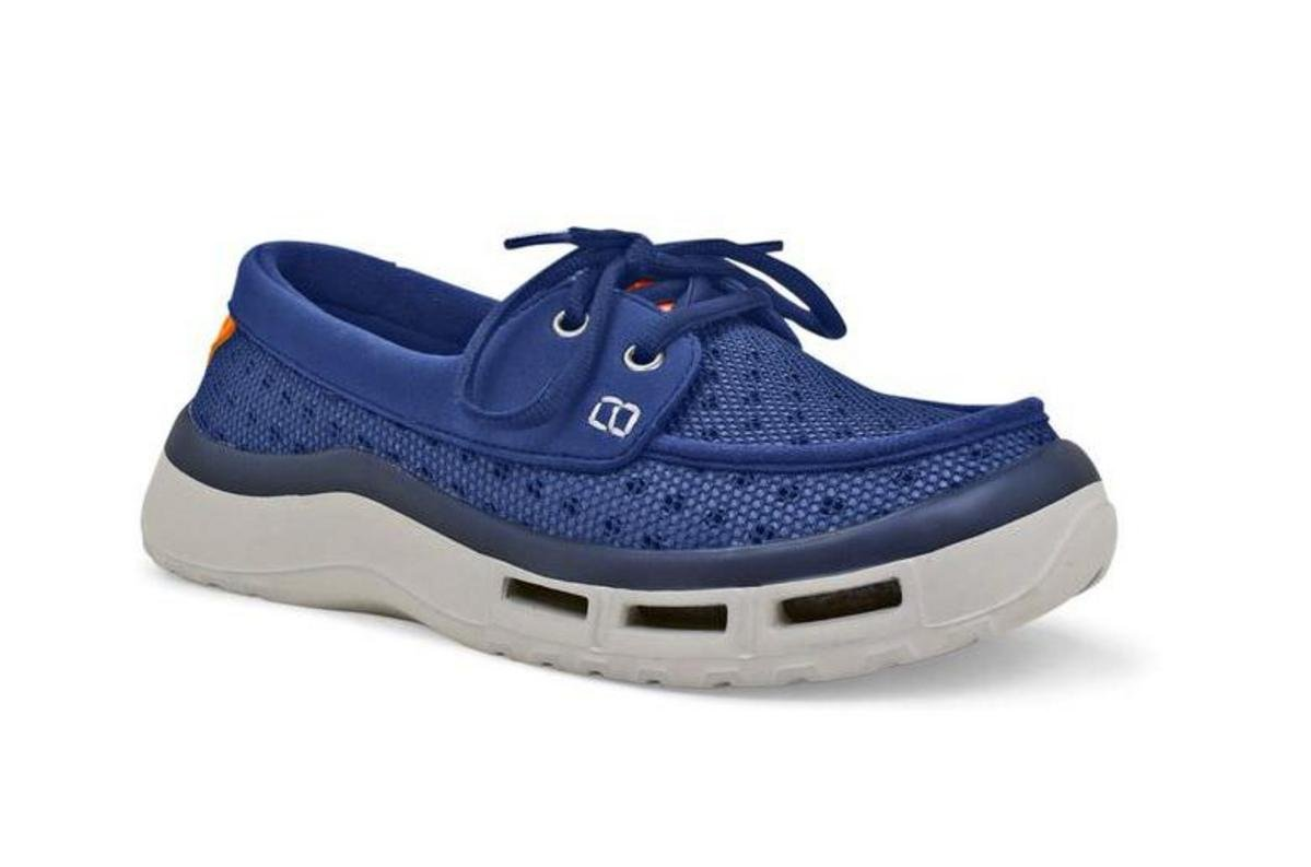SoftScience The Fin 2.0 Women's Fishing/Boating Shoes - Blue, Size 8