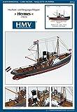 Modèle en carton de remorqueur en haute-mer Hermes