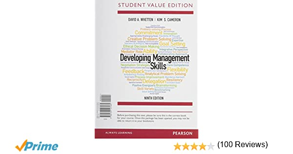 Amazon.com: Developing Management Skills, Student Value Edition ...